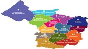 Map: Bristol Neighbourhood Partnerships