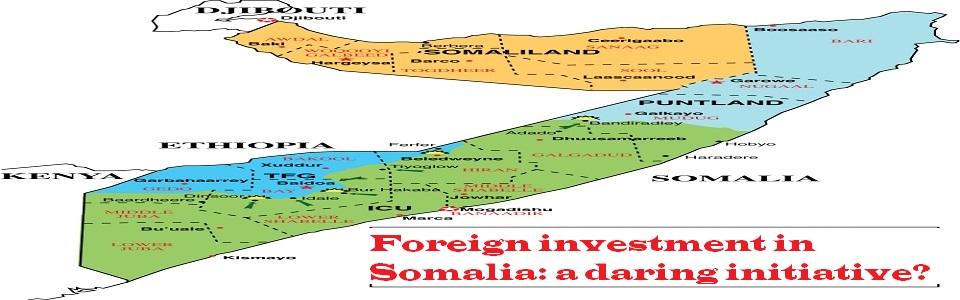 Somalia and Somaliland map